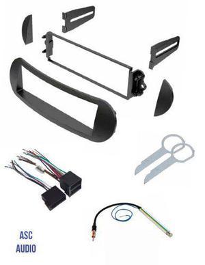 Asc Car Stereo Dash Kit Cableado Antena Adaptador Y Radio H