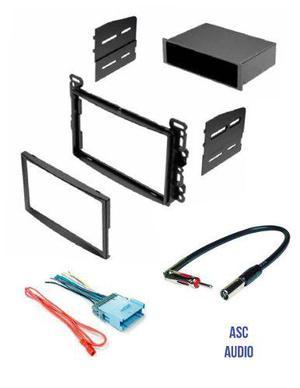 Asc Stereo Dash Kit Mazo De Cables Y Adaptador De Antena Pa
