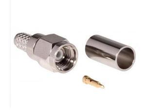 Conector Macho Sma-m Rg58 Plug P Antena Radio Señal Coaxial