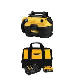 Dewalt 18/20 Voltios Aspiradora Kit Bateria Y Cargador (f)