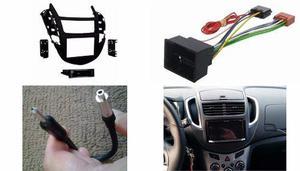 Frente 1 Ó 2 Din Arnes Antena Chevrolet Trax Año 2013 A