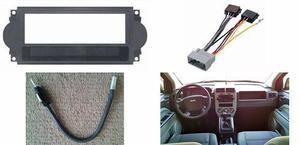 Frente Adaptador Arnes Antena Jeep Compass Año 2007 A 2008