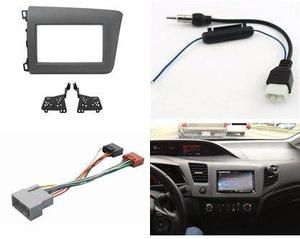 Kit Adaptador Frente Arnes Antena Estereo Honda Civic 2012