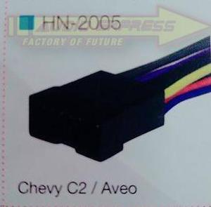 Kit Arnes Hembra Y Adapador Antena P/chevy C2/aveo Hf Hn2005