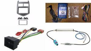 Kit Frente Volante Arnes Antena Chevrolet Sonic 2012 A 2016