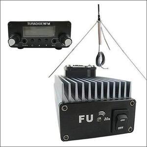 Transmisor Radio Fm 30 Watts + Antena + Cable 20 Mts + Envio