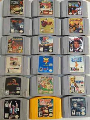 18 Juegos Nintendo 64 Mario Zelda 007 Envío Gratis