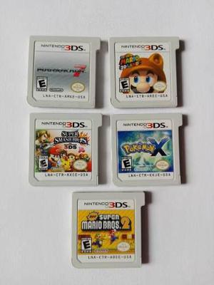 5 Juegos Para Nintendo 3ds Mario Kart 7 Super Smash Bros