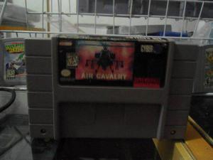 Air Cavalry Super Nintendo Snes Cartucho