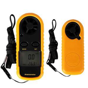 Anemómetro Digital Portátil Medidor De Viento Termometro