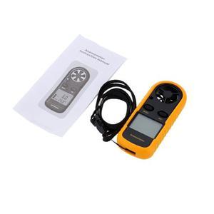 Anemometro Digital Gm816 Medidor De Velocidad De Aire Viento
