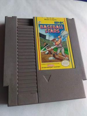 Baseball Stars Nes Nintendo Snk