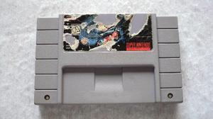 Batman Forever Con Etiqueta Dañada Para Super Nintendo Snes