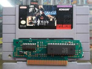 Batman Returns Snes Super Nintendo
