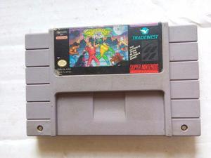 Battletoads Double Dragon Snes Ultimate Team Super Nintendo