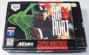 Big Hurt Super Nintendo Snes En Caja Retromex Tcvg