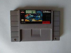Biometal Snes Bio Metal Super Nintendo C