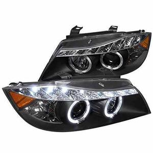 Bmw E90 Serie 3 2006 2007 2008 Faros Ojo Angel Led 325 330