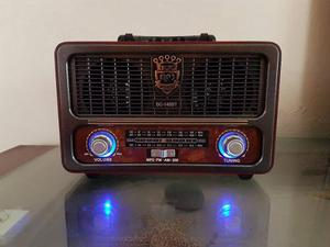 Bocina Radio Antiguo Bluetooth, Usb, Am/fm Envio Gratis