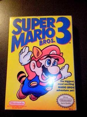 Caja Juego Super Mario Bros 3 Nintendo Nes