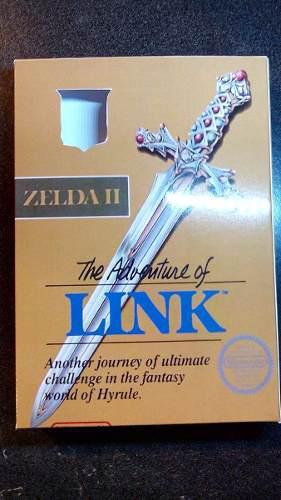 Caja Juego Zelda Ii Adventure Of Link Nintendo Nes