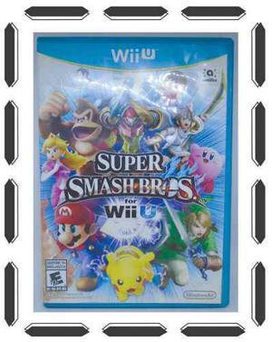 Caja Super Smash Bros For Nintendo Wii U Manual