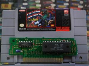Captain America Y The Avengers Super Nintendo Snes
