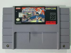Captain Commando - Original Para Super Nintendo Snes