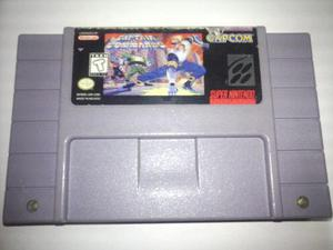 Captain Commando Super Nintendo Snes