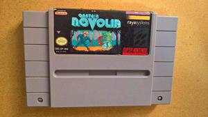 Captain Novolin Super Nintendo Snes
