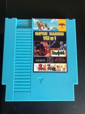 Cartucho Multijuegos 143 En 1 Nes The Best Games