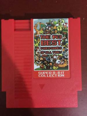 Cartucho Nintendo 143 En 1 The Best Games Nes + Envio Gratis