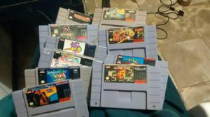 Cartuchos Casets Juegos Super Nintendo C/u Negociables