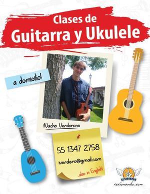 Clases de guitarra y ukulele