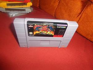 Demons Crest Demonscrest Super Nintendo Snes Envio Gratis