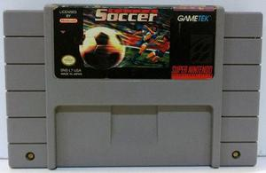 Elite Soccer Super Nintendo Snes Cartucho Retromex Tcvg