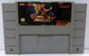 Fatal Fury Super Nintendo Snes Cartucho Retromex Tcvg