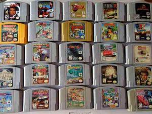 Gran Colección 100 Juegos Nintendo 64 Zelda Pokemon Mario
