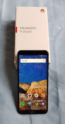 Huawei P Smart, Color Negro, En Caja, Telcel, Impecable