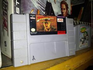 Indiana Jones Super Nintendo Snes Cartucho