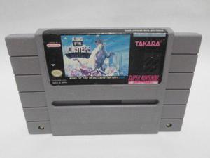 Juego De Snes King Of Monster De Takara Super Nintendo 1991