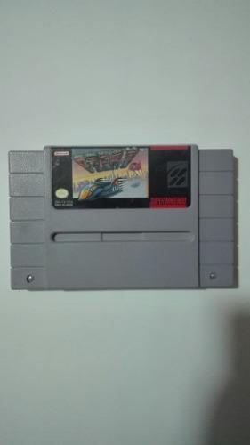 Juego F-zero Para La Super Nintendo En Perfecto Estado