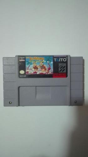 Juego The Flintstones Para Super Nintendo En Buen Estado