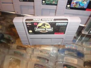 Jurassic Park Super Nintendo Snes Cartucho