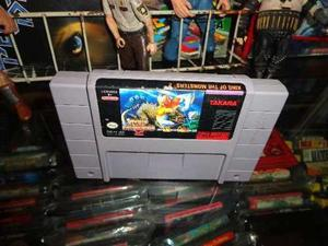 King Of The Monsters 2 Super Nintendo Snes Cartucho