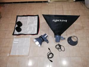 Kit de estudio fotográfico ÍnterFit