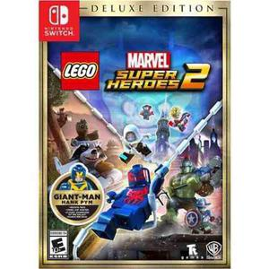 Lego Marvel Super Heroes 2 Deluxe Edition Switch Nuevo