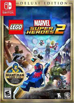 Lego Marvel Super Heroes 2 Deluxe Nintendo Switch Nuevo