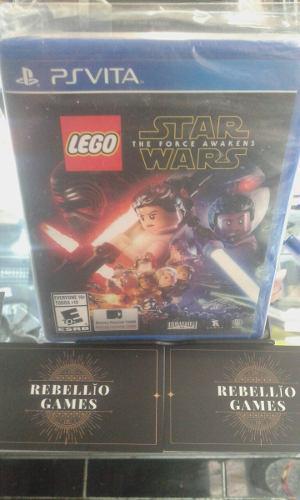 Lego Star Wars The Force Awakens Psvita
