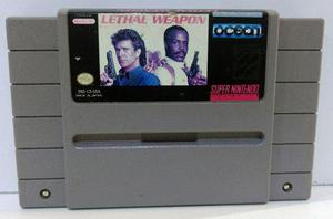 Lethal Weapon Super Nintendo Snes Cartucho Retromex Tcvg